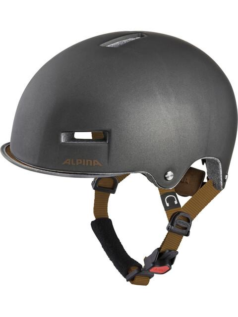 Alpina Grunerlokka Helmet sepia